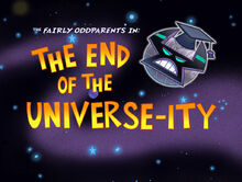 Titlecard-The End of the Universeity
