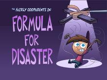 Titlecard-Formula For Disaster