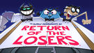 Return of the LOSERS Title Card