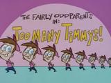 Слишком много Тимми!