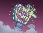 ''Crocker World'' Sign