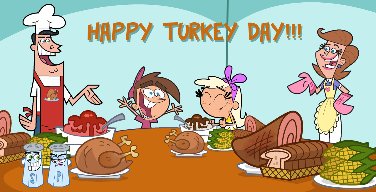 Image - Chloe and Timmy Thanksgiving.jpg | Fairly Odd Parents Wiki ...