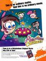 Fairly Odd Parents Abra-Catastrophe print ad NickMag June July 2003