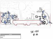 FOP363sc135 Animals Running Backview