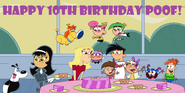 Happy Tenth Birthday Poof!