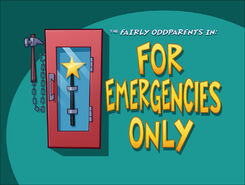 Titlecard-For Emergencies Only