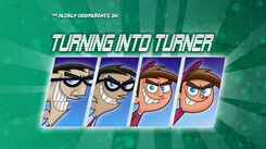 Turning into turner title card