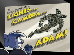 Titlecard-Lights Camera Adam