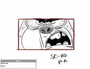 FOP363sc110 CU Squirrel Angry