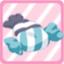 LE CandyCushiongrayxblue