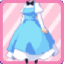 SE Head Maid Dress blue