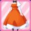 SE Head Maid Dress orange