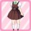 SFG Jumper Skirt brown