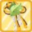 TPG Stringed Leaf Hairpiece