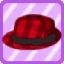 SFG Elegant Plaid Hat