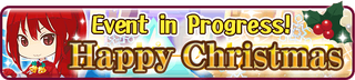 Happy Christmas minibanner