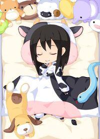 Animal Pajamas Cow w. Sheets set