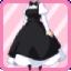 SE Head Maid Dress black