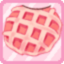 FRDG MunchingOnStrawberryWaffle