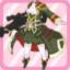 LE Dukedom Military Female Colonel Uniform green