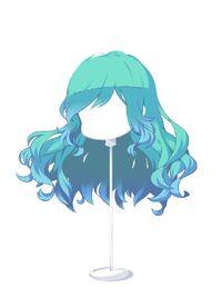 HAIR WindblownWavesSkyBlue