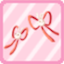 SFG Rabbit Ribbon red