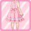 LE Retro Jumper Skirt pink