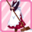 SE Japanese Clothes Maid red
