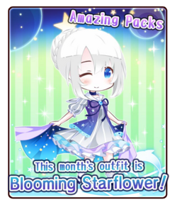 Blooming Starflower banner
