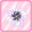 RDS Lace Pearl Corsage dark purple