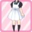 SFG Jumper Skirt white