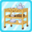 PBK Teatime Cart brown