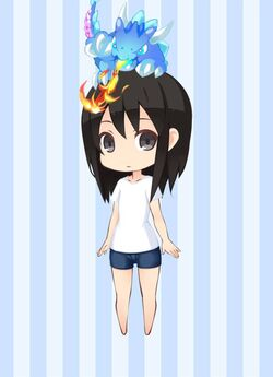 BUS Azure Flame Summon Dragon preview