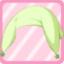 FFG Droopy Ear Fairy Hat green
