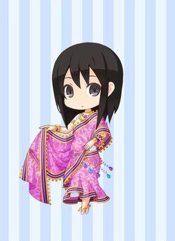 FCJ Golden Goddess Sari preview