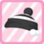 LE KnitPom-PomHatblack