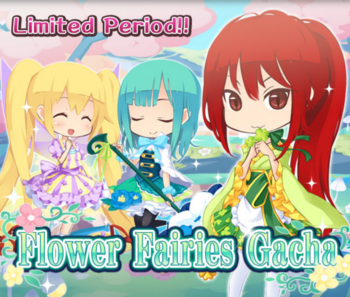 Flower Fairies Gacha Big Banner