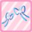 SFG Rabbit Ribbon blue