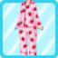 SFG Strawberry Pajamas pink