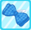 DG Chequered Ribbon Blue