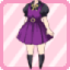 SFG Jumper Skirt purple
