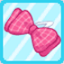 DG Chequered Ribbon Pink