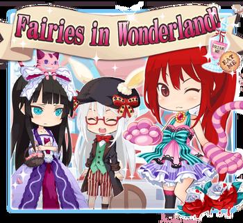 Fairies in Wonderland big banner