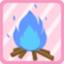 RDS Campfire blue