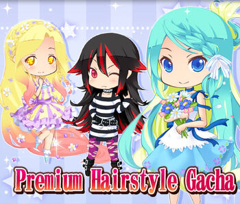 Premium Hairstyle Gacha 1 big banner