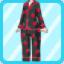 SFG Strawberry Pajamas black