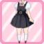 SFG Jumper Skirt black