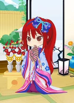 Beautiful Hina Doll outfit