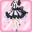 FFG Fragrant Lavender Dress black