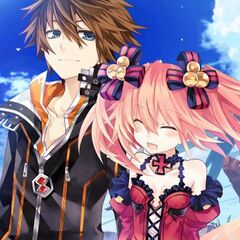 One of Eryn's endings on Fairy Fencer F: Advent Dark Force